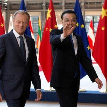 中国:欧盟应在峰会'尽全力支持'人权