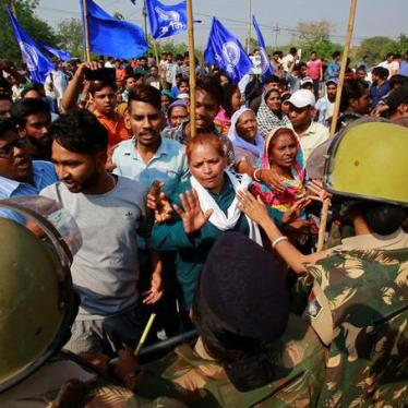 India: Dalit Rights Activists Detained