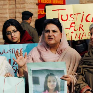 Public Hanging Won't End Child Sexual Violence in Pakistan