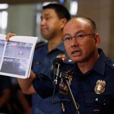 Letter to Philippine Police Chief Oscar Albayalde