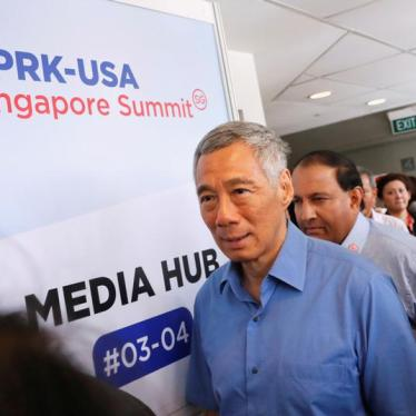 Singapore: End Broad Restrictions on Speech