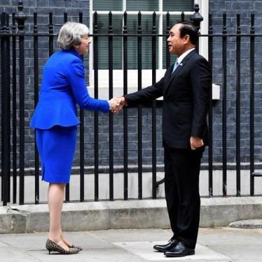 No Red Carpet for Thai Junta Leader
