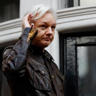 UK Should Reject Extraditing Julian Assange to US