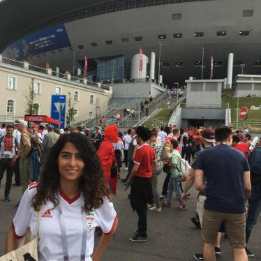 Women Cheer Iran's Win at the World Cup in Russia—But Still Can't at Home