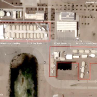 US: Child Detention Tent City Image Illustrates Crisis