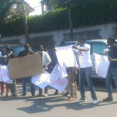 In DR Congo, Speak Out and Get Arrested