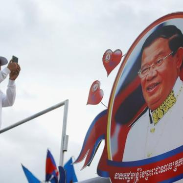 Cambodia: Military, Police Campaigning for Ruling Party