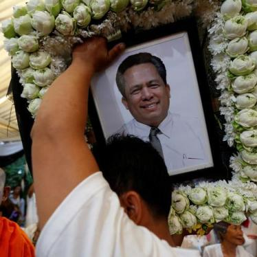 Cambodia: Answer Demands for Justice in Kem Ley Murder