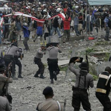 Indonesia's Papua Coverup Reflex Prompts Police Dormitory Raid