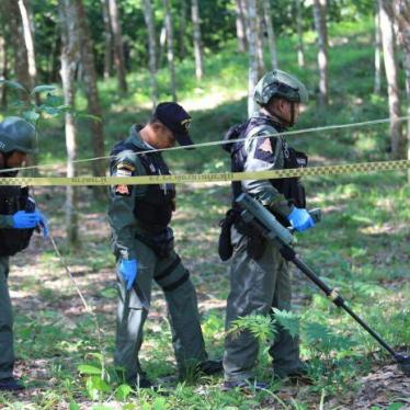 Thailand: Insurgents Use Landmines in South