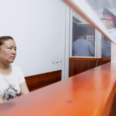 Kazakhstan Shouldn't Deport Asylum Seeker to China
