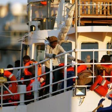 Zuerst müssen im Mittelmeer Leben gerettet werden