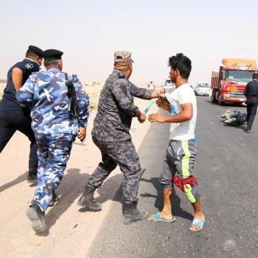 قوات الأمن العراقية تطلق النار على المتظاهرين