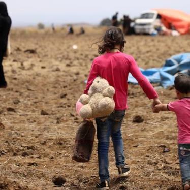 Syria/Jordan: Open Borders to Daraa Residents