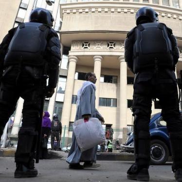 Egypt: Intensifying Crackdown Under Counterterrorism Guise