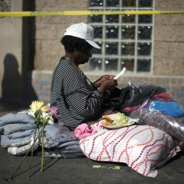 Criminalizing Homelessness Violates Basic Human Rights