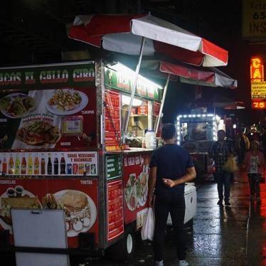 La ciudad de Nueva York quiere rastrear a los vendedores ambulantes de comida