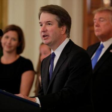 Human Rights Watch Statement on Nomination of Brett Kavanaugh to US Supreme Court