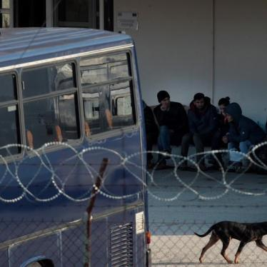 Greece: Inhumane Conditions at Land Border