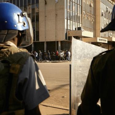 Zimbabwe: Intensified Crackdown on Opposition