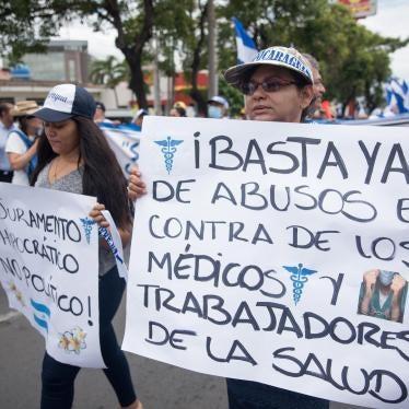 Nicaragua: Despido arbitrario de médicos y trabajadores de la salud