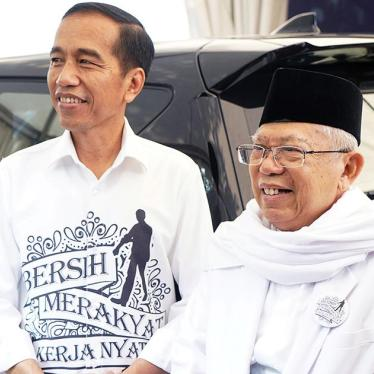Indonesia: Vice Presidential Candidate Has Anti-Rights Record