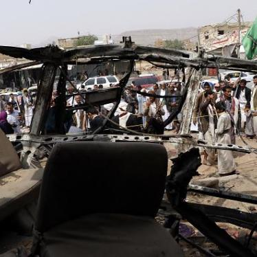 Yemen Bus Attack Should Be Point of No Return