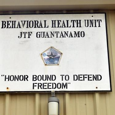 Nine Rights Groups Tell APA Don't Undermine Independent Psychological Care at Guantanamo