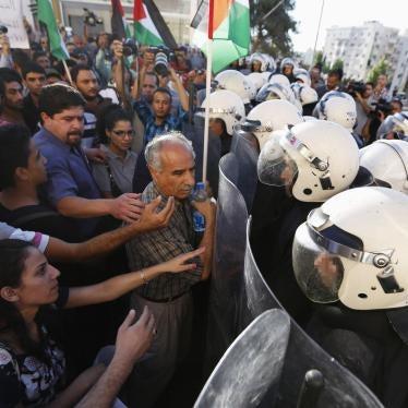 Palästina: Behörden zerschlagen Kritik