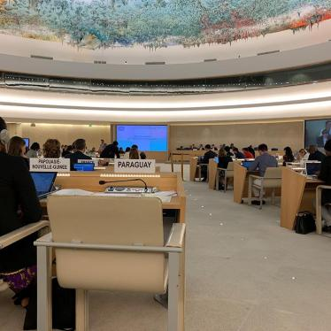Chamber of the United Nations Human Rights Council