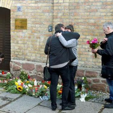 Anschlag auf Synagoge in Halle zeigt Gefahr durch Antisemitismus in Europa