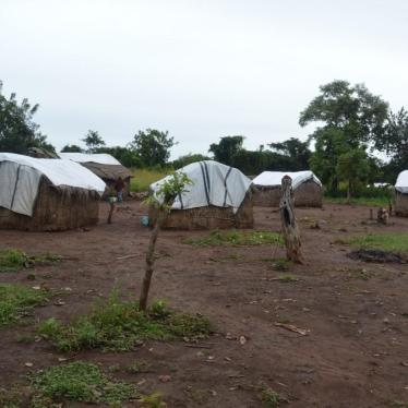 An internally displaced camp for Peuhl in Sibut, Kemo province, Central African Republic, where survivors of the Amo attack were living in October 2019.