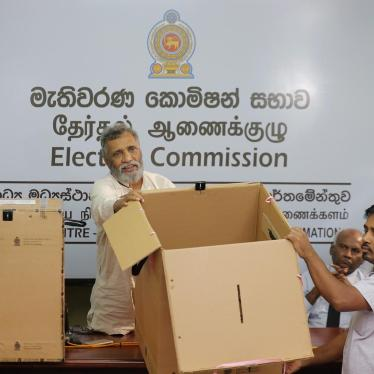Sri Lanka: Next President Faces Major Rights Challenges