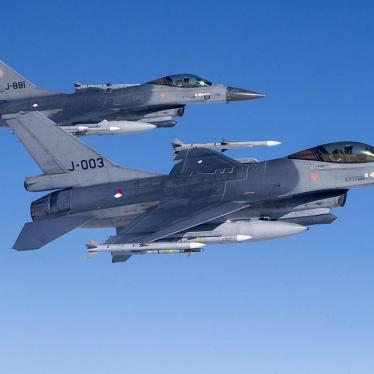 Royal Netherlands Air Force F- 16 military fighter jets participating in NATO's Baltic Air Policing Mission operates in Lithuanian airspace during a Ramstein Alloy air force exercise, Tuesday, April 25, 2017.