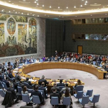 The UN Security Council holds a meeting on November 20, 2019, at United Nations headquarters in New York.
