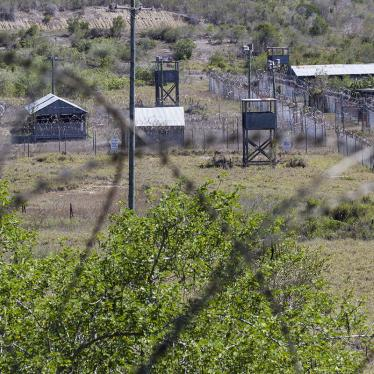 The closed Camp X-Ray detention facility is seen in Guantanamo Bay Naval Base, Cuba, April 16, 2019.