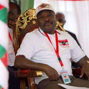 Burundi's President Pierre Nkurunziza attends the National Council for the Defense of Democracy-Forces for the Defense of Democracy (CNDD-FDD) party's extraordinary congress in Gitega province, Burundi, January 26, 2020.